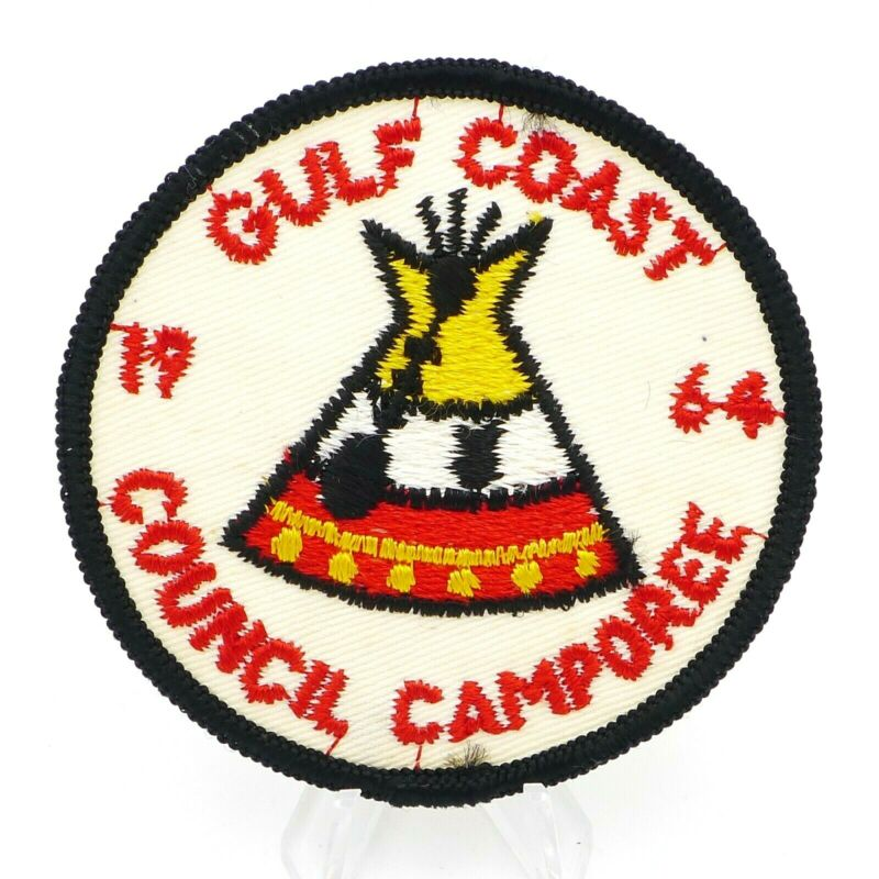 1964 Boy Scout Gulf Coast Council Camporee Patch BSA