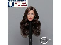 """Kasumi 1//6 OB Head Sculpt Carving Beautiful Girl For 12/"""" Phicen UD Body ❶USA❶"""