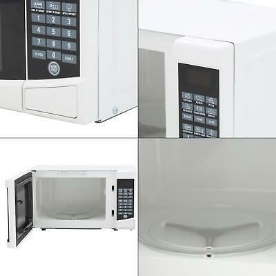 0.7 cu. ft. countertop microwave in white | kitchen compact