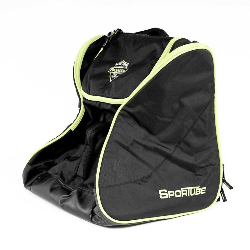 NEW Sportube BGSFRGRN Freerider Boot Bag in Black / Green Polyester - 70L