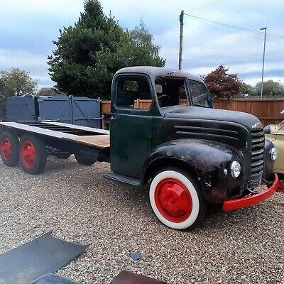 fordson thames etc with v8 flathead Truck very solid hotrod transporter