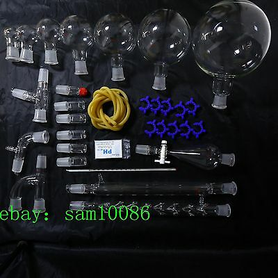 New Lab Glassware Kit2000organic Chemistry Laboratory Unit2429free Shipping