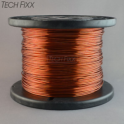 Magnet Wire 16 Gauge Enameled Copper 850 Feet Coil Winding 6.75 Lbs Essex 200c