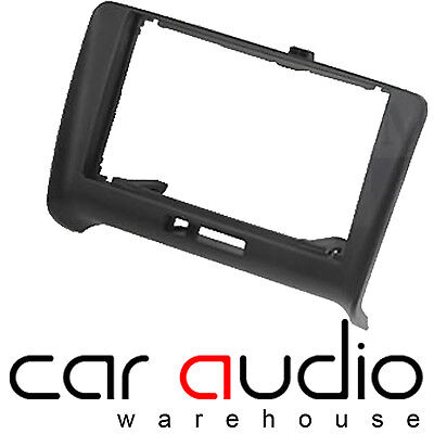 Audi TT 1999-2006 Black Single Din Facia Plate Autoleads Radio Stereo