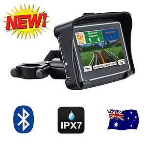 NEW-4-3-Inch-Waterproof-GPS-8GB-Bluetooth-FM-Motorcycle-Car-Latest-Maps