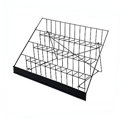 4-tier 29 Wire Display Rack Literature Brochure Magazine Stand Book Tabletop