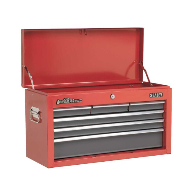 Sealey Tool Topchest 6 Drawer Storage With Ball Bearing Runners - AP2201BB