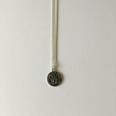 Handmade Death Star Star Wars Necklace