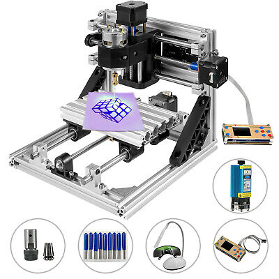 Cnc 2418 Engraver Machine 3 Axis Router 500mw Laser With Offline Controller