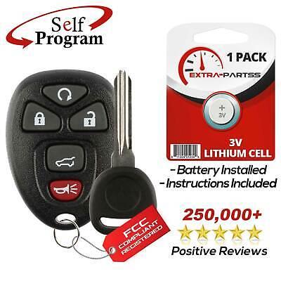 For 2009 2010 2011 2012 2013 2014 2015 2016 Chevrolet Traverse Remote + Key