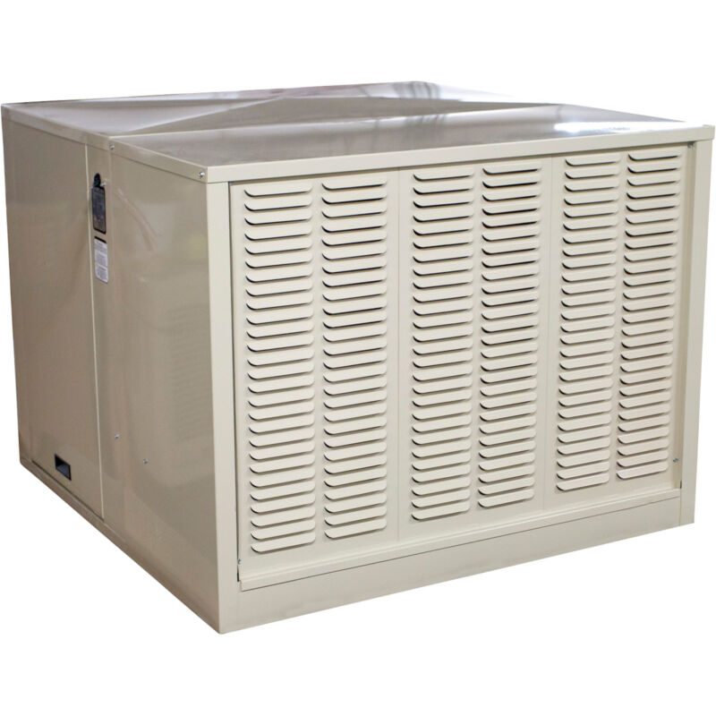 Hessaire Roof-Mount Evaporative Cooler- Side Draft 6800 CFM 1 HP Capability