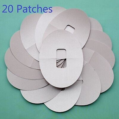 20 Pieces Ultra Thin Adhesive Patches Pre Cut Fits For Dexcom G4 G5 Nude Color
