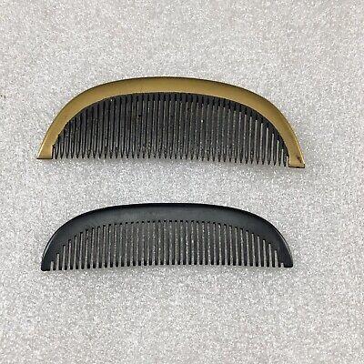 ST25 Vintage Japanese Geisha Comb Lot Of 2