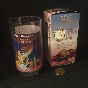 Beauty & the Beast  Disney Plastic Collectors Series Cup