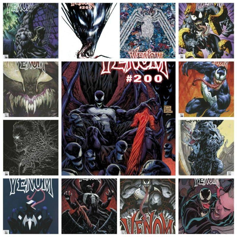 Venom #35 13 Cover Variant Set Options Gleason Jock Veregge 200th NM