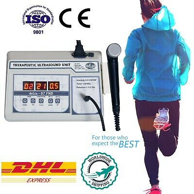 Ultrasound Equipment Personal Use Pain Relief Frequency 1 Mhz Physical Therapy