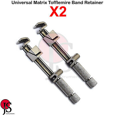X2 Dental Universal Bands Retainer Matrix Tofflemire Orthodontic Stainless Steel