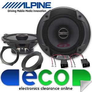 BMW Mini Cooper S R53 Alpine 480 Watts 16cm Front Door 2 Way Car Speakers