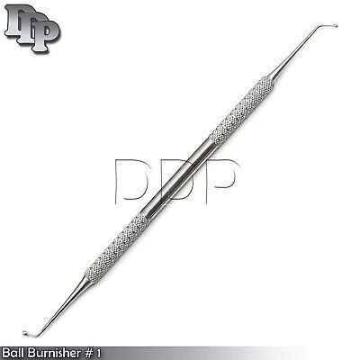 2 Ball Burnisher 1 De Dental Amalgam Instruments
