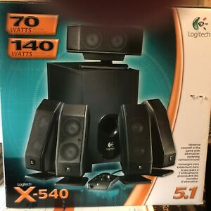 Logitech X-540 speakers