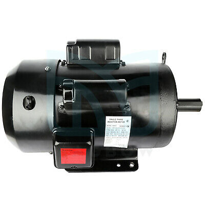 7.5 Hp Air Compressor Electric Motor Odtf Single Phase 4pole 1750 Rpm 215t Frame