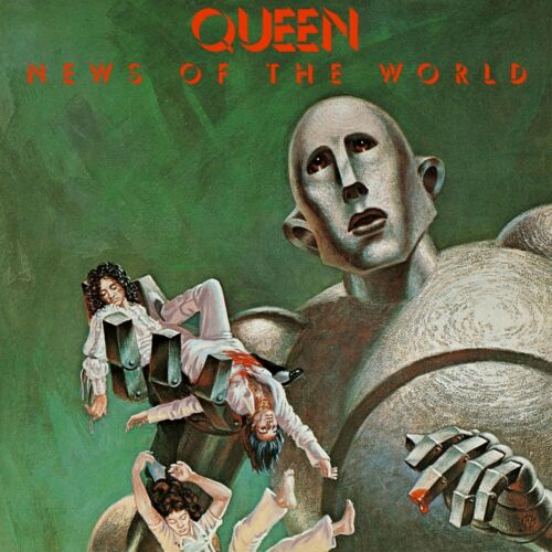 QUEEN News of the New World BANNER HUGE 4X4 Ft Fabric Poster Tapestry Flag Print