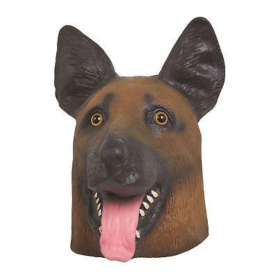 Schäferhund Hund Maske, Halloween, Kostüm