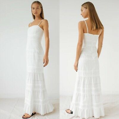 SIR. The Label Celie Maxi Dress NWT White Size 0/XS