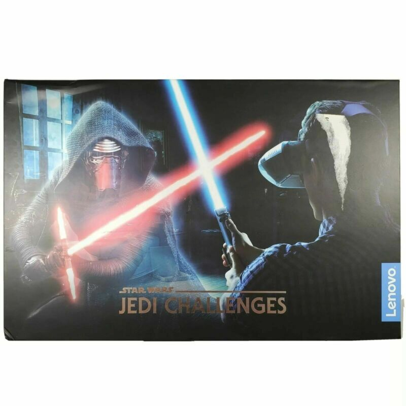 Lenovo Star Wars Jedi Challenges AR Headset with Lightsaber Tracking Beacon NEW