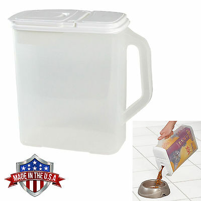 Store Food Storage - Food Storage Container 6 Qt Keeper and Pour n' Store Dispenser with Handle
