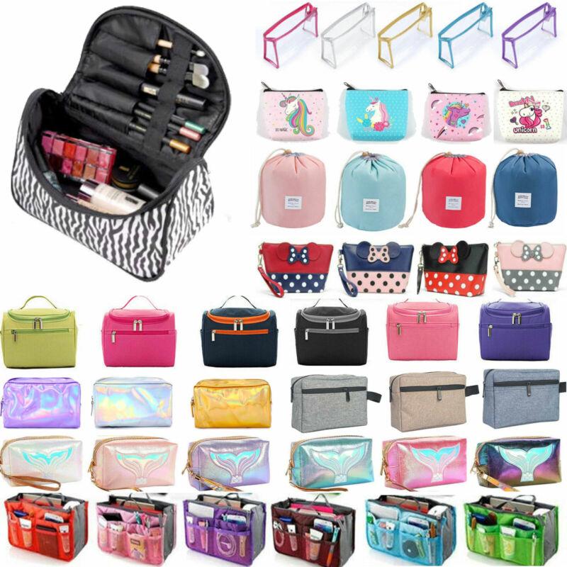 Women Travel Cosmetic Bag Makeup Pouch Toiletry Wash Organiz
