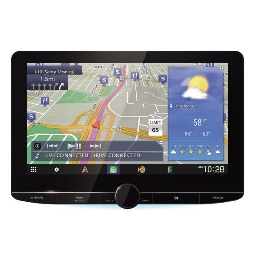 """Kenwood Excelon DNR1007XR 10.1"""" Floating Panel Digital Navigation Receiver"""