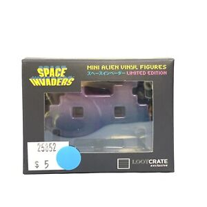 SPACE INVADERS MINI ALIEN VINYLE FIGURINES