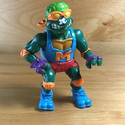 TEENAGE TMNT MUTANT NINJA TURTLES SKATEBOARDIN' MIKE ACTION FIGURE 1991