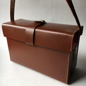 Vintage Benser camera bag case Germany