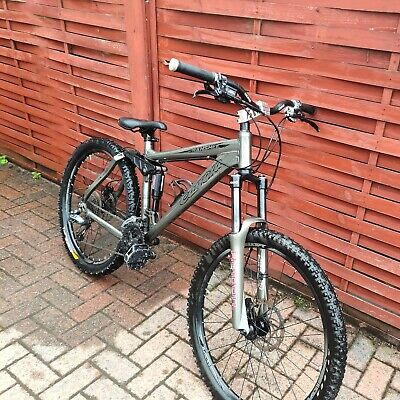 Carrera Banshee full suspension air sram suntour enduro hydraulic mountain bike