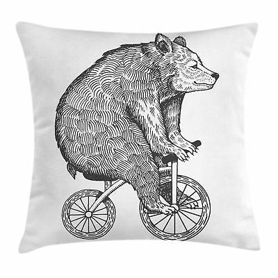 Bicycle Throw Pillow Cases Cushion Cover for Home Accent Dec