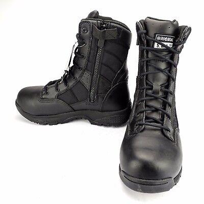 "Original SWAT Metro 9"" Waterproof Side Zip Safety Tactical Work Boot Mens Sz 6.5"