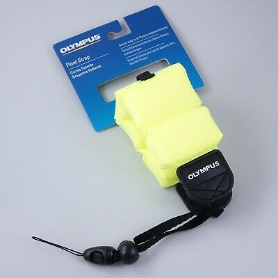 Olympus Float Strap for Underwater Cameras, Neon Yellow #QF8