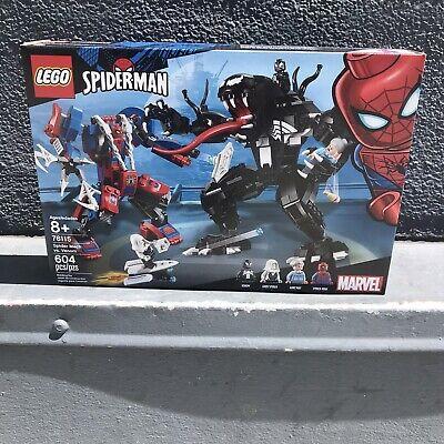 LEGO Marvel Spider Mech Vs. Venom Ghost Spider Superhero Playset Ages 8+