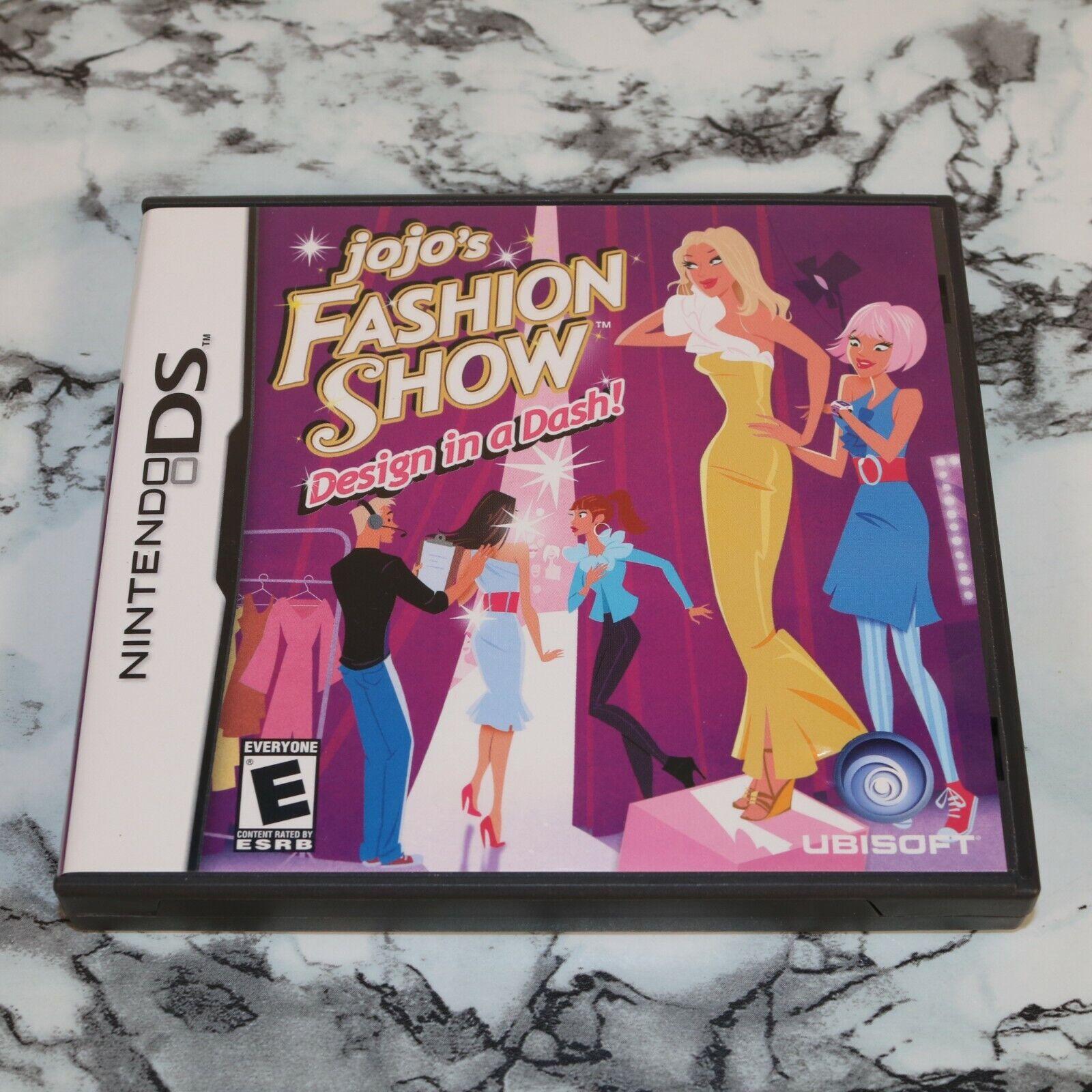 Jojo s Fashion Show Nintendo DS, 2009 -- Complete W/ Manual - $11.18