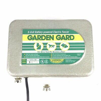 Parmak Precision Pet Garden Gard Electric Fencer With Uninterrupted 6v Voltage