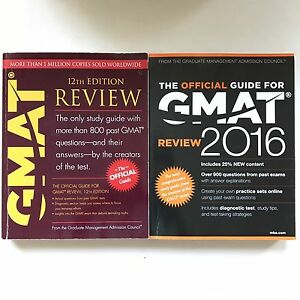 Official GMAT Review Guide 2016 + 12th Edition + Notes