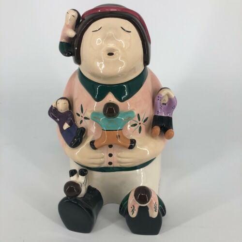 RARE Destination Home Storyteller Arts Navajo Southwest Hand Painted Cookie Jar