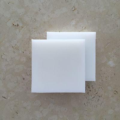 Hdpe High Density Polyethylene Plastic Sheet 1 X 2 X 6 White