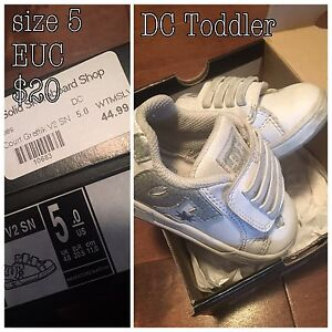 DC boys toddler shoes