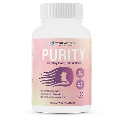 Purity - Hair Skin & Nail Vitamins for Women - Better than Radiance