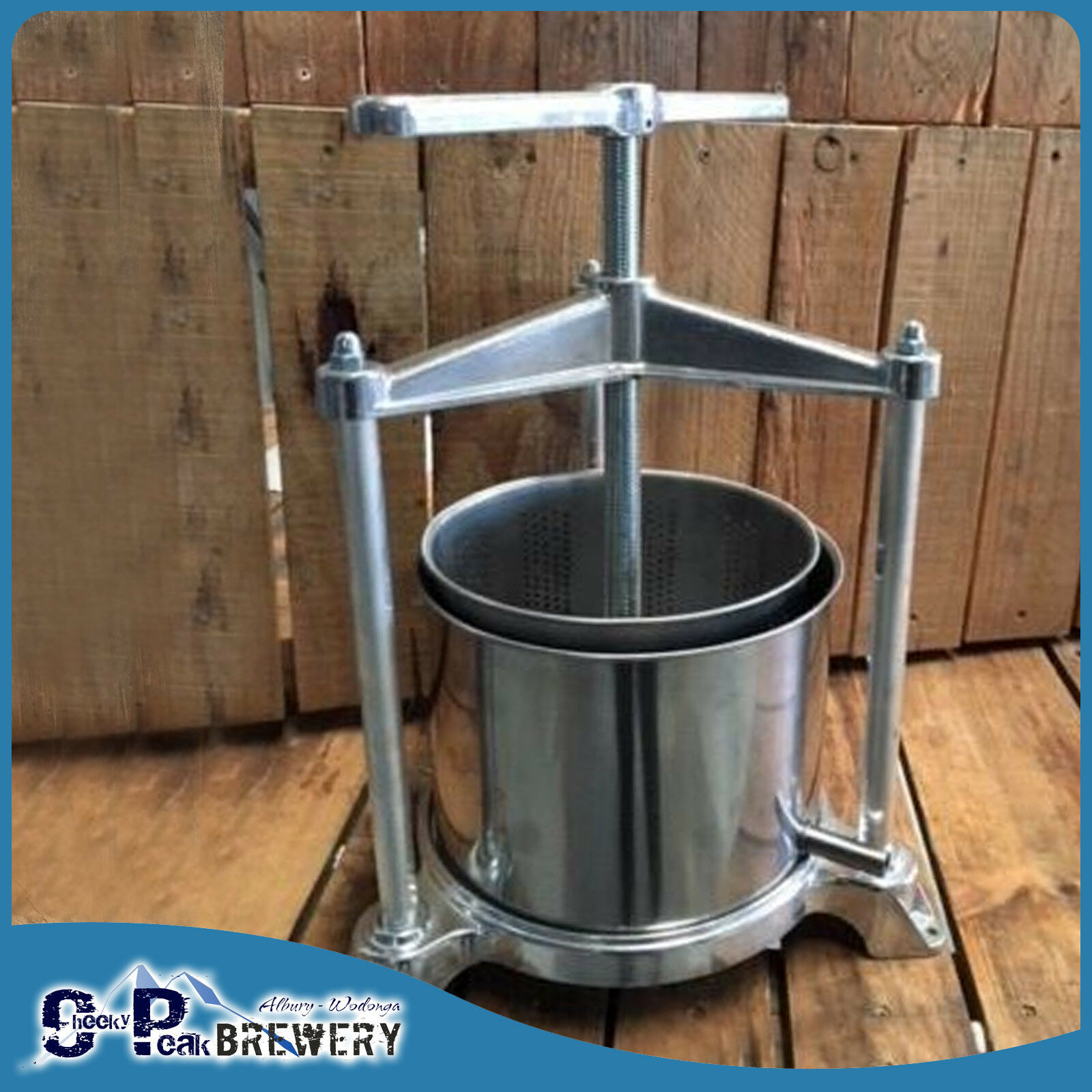 5 3l Stainless Steel Aluminum Wine Press Beer Amp Home