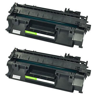 2 PK for Hp CE505A 05A Toner Cartridge Laserjet P2055dn P2035n P2035 P2050 P2055