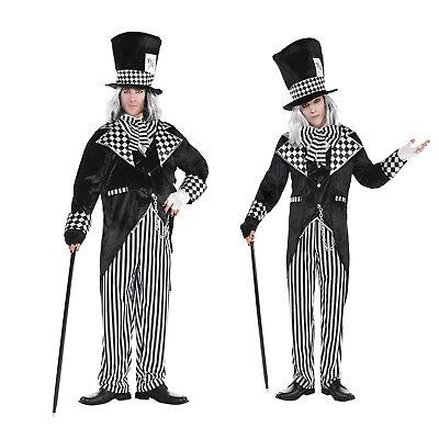 Christys Herren Total Verrückter Hutmacher Alice Halloween Märchen - Verrückter Hutmacher Alice